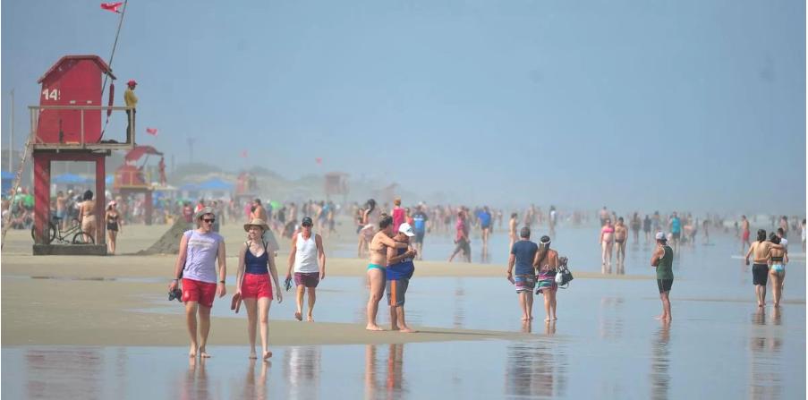 Ar seco garante sol neste domingo no Rio Grande do Sul