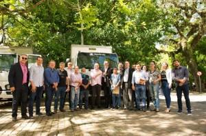 Seapdr entrega caminhões para centrais de produtos da agricultura familiar