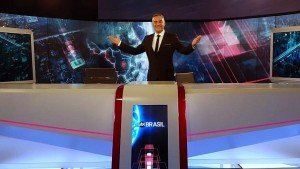 André Haar será o âncora do SBT Brasil neste sábado
