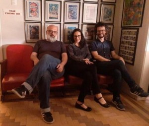 Roger Lerina, Luis Augusto Fischer e equipe do Matinal News criam o Matinal Jornalismo