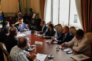 EM REUNIÃO COM AZUL E TWOFLEX, GOVERNADOR MANIFESTA INTERESSE EM MANTER E AMPLIAR ROTAS REGIONAIS