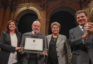 Lula recebe título de cidadão de Paris e renova ataques à justiça e ao Congresso; da Jovem Pan