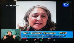 Porto Alegre: Lourdes Sprenger assume Procuradoria Especial da Mulher