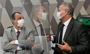 Renan Calheiros se recusa a fazer perguntas a médicos pró-cloroquina na CPI da Covid e deixa sessão; O Globo