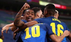 Jogos: Brasil encara Egito nas quartas de final do futebol masculino