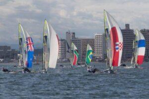 Brasil inicia a disputa de três classes na vela nos Jogos Olímpicos Tóquio 2020