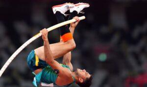 Tóquio 2020: Thiago Braz conquista bronze no salto com vara. Esta foi a segunda medalha do atletismo brasileiro em Tóquio