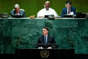 Bolsonaro abre Assembleia da ONU com defesa de marco temporal e ação ambiental do Brasil; Metrópoles