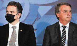 Relação entre Pacheco e Bolsonaro azeda sob o signo da desconfiança; O Globo