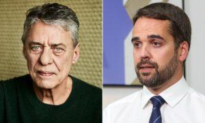 Juiz manda Eduardo Leite apagar vídeo com imagem de Chico Buarque de suas redes; O Globo