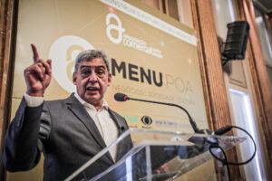Porto Alegre: Melo debate retomada do desenvolvimento social e econômico com empresários