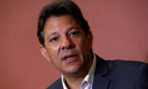 Em encontro com empresários, Haddad fala de corrupção, Lula, Dilma e diz que PT não é de esquerda; por Lauro Jardim/O Globo