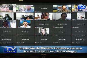Porto Alegre: Enfrentamento ao trabalho infantil pautou reunião da Comissão de Defesa do Consumidor e Direitos Humanos (Cedecondh) da Câmara Municipal